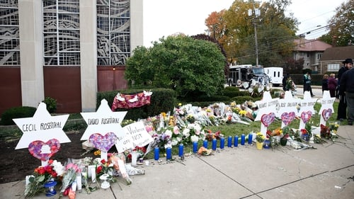 Trump family pays tribute at Pittsburgh synagogue, protesters cry foul