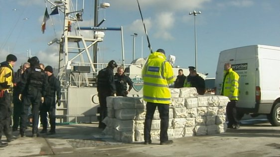 Cocaine Seized in Castletownbere (2008)