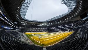 Tottenham Hotspur's new stadium will host two NFL fixtures in 2019