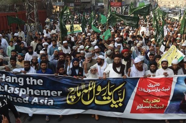 Asia Bibi verdict: Pakistan court overturns blasphemy death sentence
