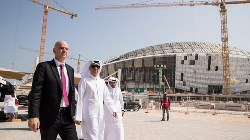 Qatar officials deny holding talks over sharing matches at the 2022 World Cup