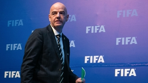 Gianni Infantino has been proposed for International Olympic Committee membership