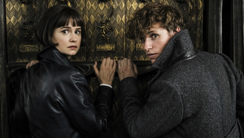 Katherine Waterston and Eddie Redmayne are back as Tina and Newt