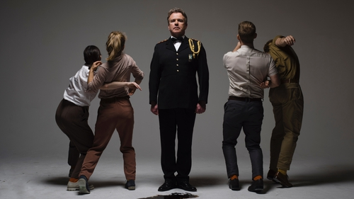 Ex-Army Captain Dr Tom Clonan features in Junk Ensemble's new production Soldier Still