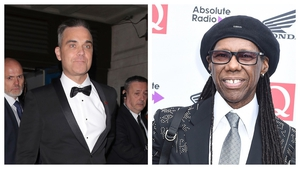 Robbie Williams will reportedly be replaced by Nile Rodgers on The X Factor