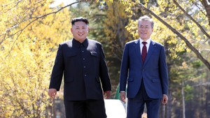 Kim Jong-un has expressed a 'strong resolve' to visit South Korea