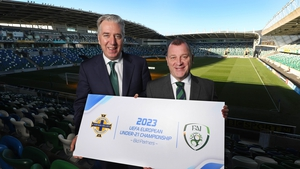 The FAI and the IFA have launched a joint bid to host the 2023 European Championships