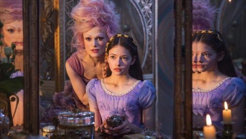 The Nutcracker and the Four Realms: snowy fantasy in a Russian-tinged, Tchaikovsky inspired landscape