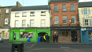 The incident happened at Duke Street in Athy in the early hours of Thursday morning