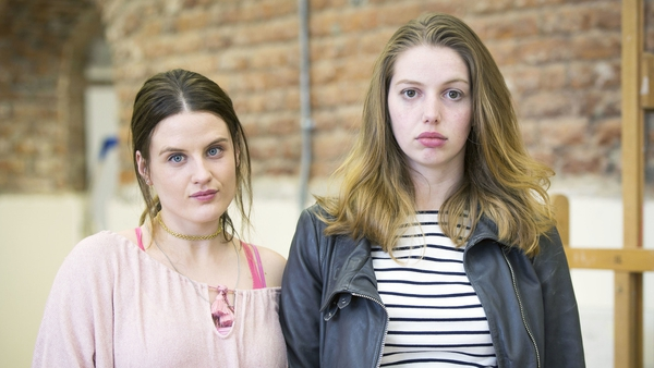 Nika McGuigan and SeánaKerslake in RTÉ2's hit comedy-drama Can't Cope,Won't Cope