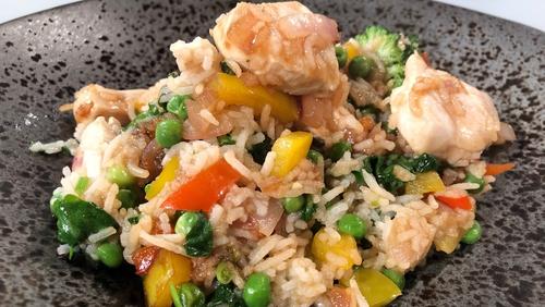 Eunice Power's Chicken Stir-Fry