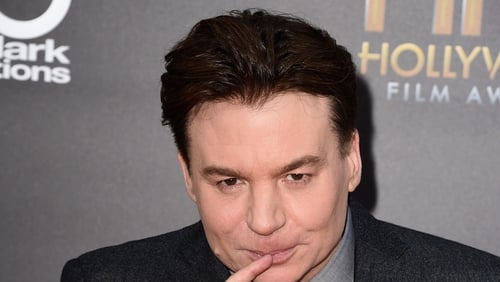 """Mike Myers: """"He's doing a fantastic movie right now that he's working on. But ... it's looking good.''"""
