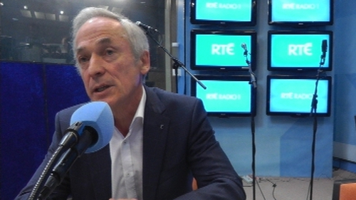 Richard Bruton was speaking on RTÉ's Today with Miriam O'Callaghan