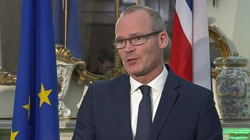Tánaiste and Minister for Foreign Affairs Simon Coveney rule out any renegotiation on the Brexit deal