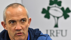 Conor O'Shea will be hoping for a first win over Ireland