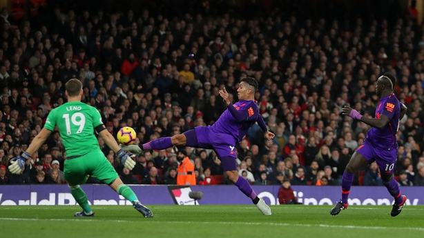 Liverpool draw shows Arsenal can play with top teams - Bernd Leno