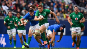 Jordan Larmour starts for Ireland against Scotland