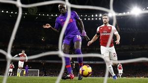 Mane's goal was disallowed