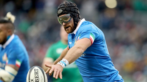 Ian McKinley made a spectacular return to rugby