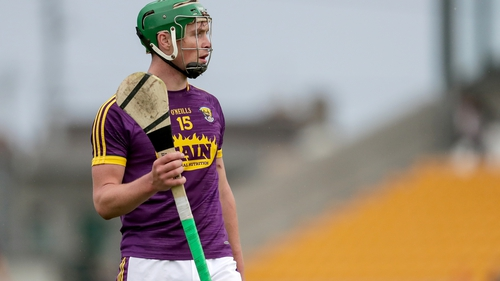 Wexford forward Conor McDonald was on the mark for Naomh Eanna