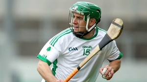 Kevin Connolly hit 0-07 in Coolderry's win over Mount Leinster Rangers in Tullamore