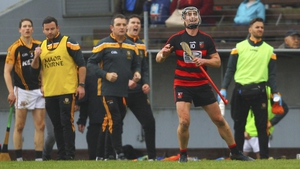 Pauric Mahony celebrates a late score in Ballygunner's win over Ballyea