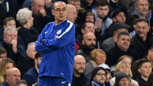 Maurizio Sarri has yet to lose a Premier League game as manager