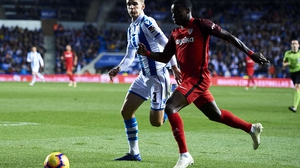 Real Sociedad and Sevilla could not be separated