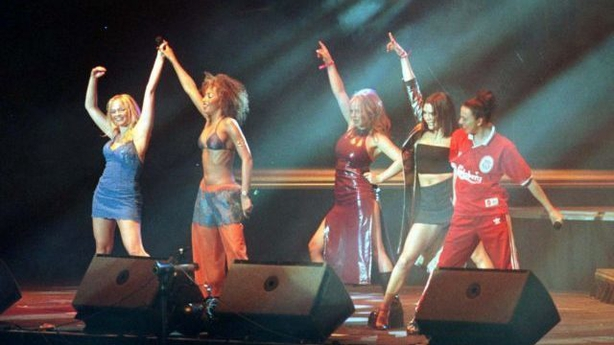 Spice Girls on stage at the 96.4FM BRMB Music Jam at the NEC in Birmingham (Barry Batchelor/PA)
