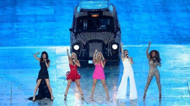 The Spice Girls perform during the London Olympic Games 2012 (David Davies/PA)