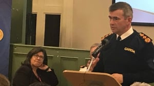 Drew Harris attended the CoLongford Joint Policing Committee at Ballymahon