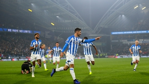 The win sees Huddersfield move above Fulham and Cardiff at the foot of the table