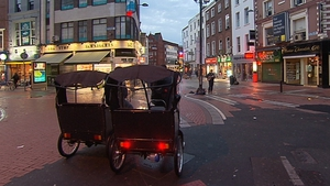 It is estimated that there are around 1,000 rickshaws in operation in Dublin