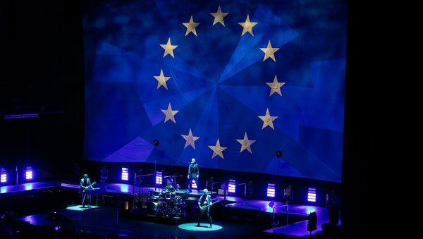 U2 rocked out at Dublin's 3Arena on Monday