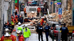 Two buildings collapsed suddenly not far from Marseille city centre