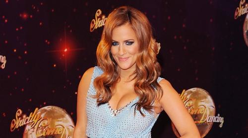 Caroline Flack won Strictly Come Dancing with professional dance partner Pasha Kovalev in 2014
