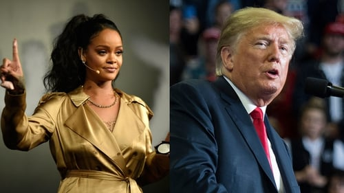 Rihanna issues cease-and-desist ordering Trump to stop playing her music at rallies