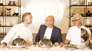 Marcus Wareing, Gregg Wallace and Monica Galetti