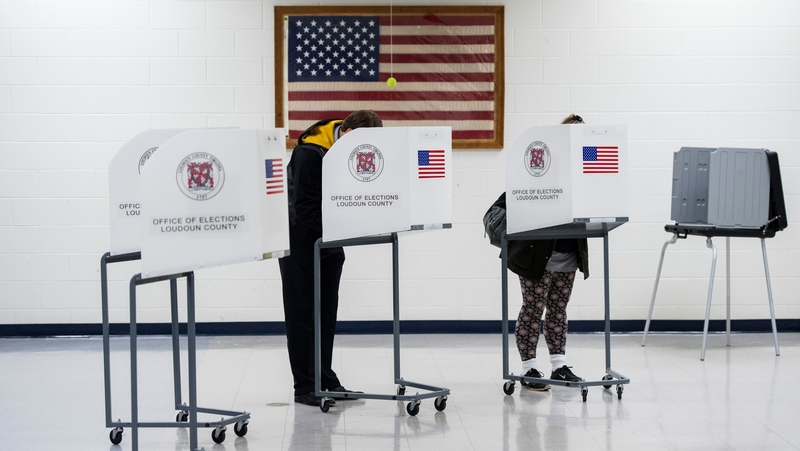 Polling stations have opened across eastern US states