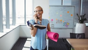 There are plenty of ways to keep your body and mind in tip-top condition at the office, says Jenny Stallard.