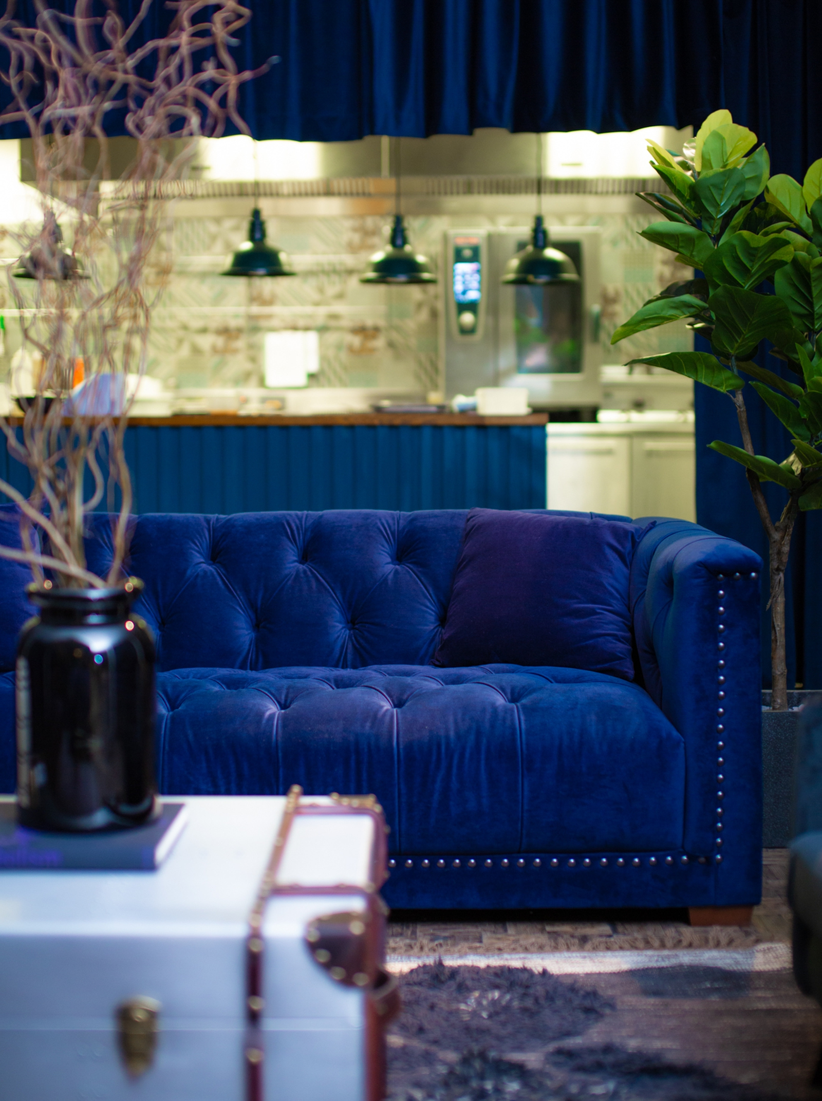 Image - Plush velvets and soft lighting are proving popular with people who prefer staying in