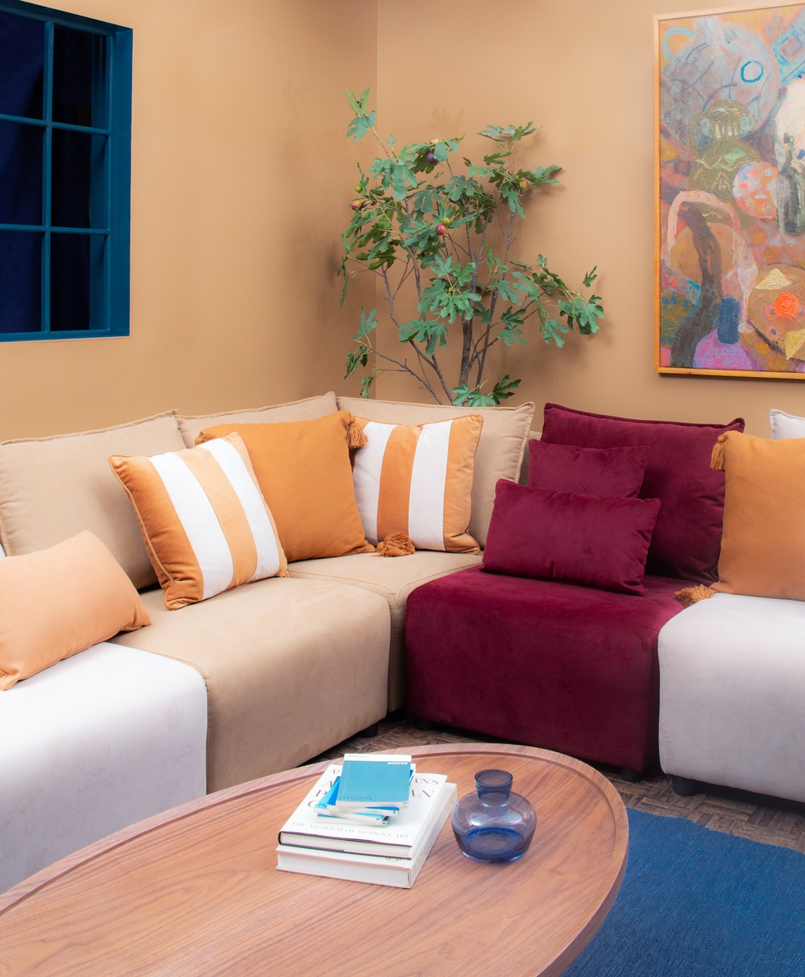Image - Urban Craft Pad utilised Dulux colour of the year, Spiced Honey