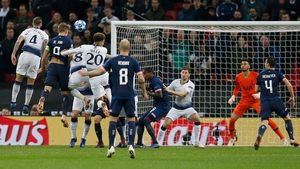 Luuk De Jong opened the scoring at Wembley with less than two minutes on the clock but Spurs hit two second half goals to win the game