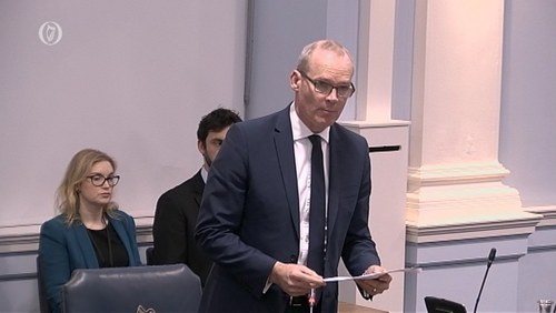 Simon Coveney said the Irish and British governments would hold annual summits to strengthen relations.