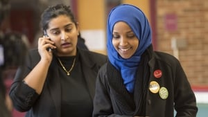 Ilhan Omar, a Somali refugee who won a House seat in Minnesota, was one of two Muslim women elected to Congress for the first time