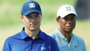 Tiger Woods is ranked 13th in the world and one place ahead of Jordan Spieth