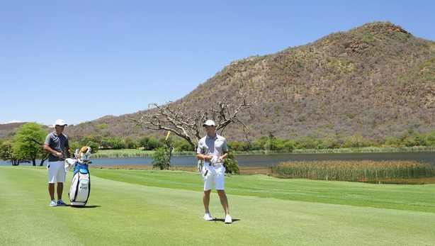 Garcia sets pace at Sun City with faultless 64