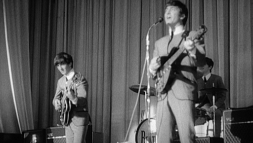 The Beatles performed in Dublin in 1963 (credit: Gael Linn)