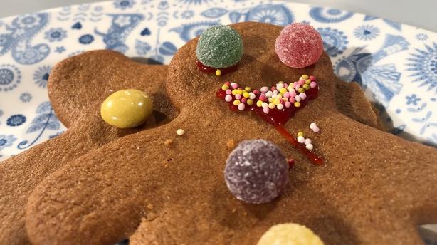 Nanny Nellie's Gingerbread Men