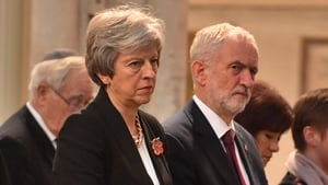 """Jeremy Corbyn said people should """"see what happens"""" on Tuesday, when Theresa May's Withdrawal Agreement is put to a vote"""